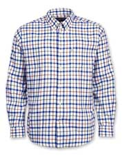 A brushed weave gives this timeless Barbour check shirt its impressive softness and warmth.