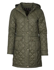 Diamond quilting gives the Barbour Jenkins Jacket its refined style and extra warmth.
