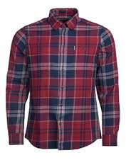 Don't be fooled by the lightweight hand of the Barbour Bidston: This shirt is plenty warm.