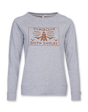 Barbour gets the sweatshirt right in this boatneck Lewes version, a perfect layering option.