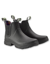 The Fury Chelsea Boot from Barbour boasts waterproof performance and versatile styling.