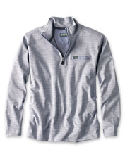 Our Breakers Quarter-Zip is a supremely soft ribbed pullover that offers multi-season utility.