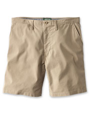 A weather-ready DWR finish on our Heritage Chino Shorts helps keep you dry on the trail.