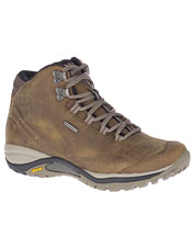 Made-for-her Merrell Siren Traveler 3 Mid Waterproof Hiking Boots are rugged and trail ready.