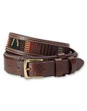 Our Guatemalan Ranger Belt recalls classic designs from the American West.