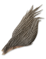 Tie up realistic dry fly patterns with these smaller neck feathers.