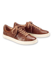 Conventional kicks enjoy elevated style in these Ivy Low Lace Sneakers by Frye.