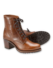 Edgy style and top quality are the hallmarks of the Frye Sabrina 6G Lace-Up Boot.