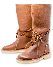 Wool-lined and water-resistant, the leather Duckfeet Silkeborg Boot is a comfortable luxury.