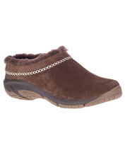 In the Encore Ice 4, Merrell crafts beautiful suede and cozy shearling into comfortable mocs.