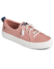 Rely on the comfort and support of Sperry Crest Vibe Twill Sneakers for every casual outing.