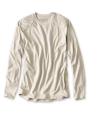 We raised the performance quotient in our men's UPF 50 PRO Sun crewneck shirt.
