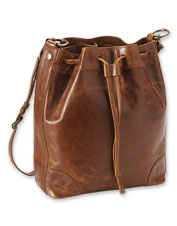 A smart design and pretty details—the Frye Melissa Drawstring Hobo Bag checks all the boxes.