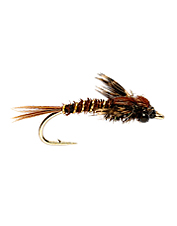 Add several sizes of these PT imitation nymphs to your trout boxes to ensure good fishing.