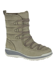 These Snowcreek Cozy Waterproof Leather Boots keep you dry and comfortable, Merrell-style.