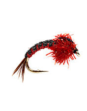 Catch the attention of steelhead with these vibrant steelhead mayfly nymphs.