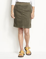 The adventure-ready Explorer Pull-On Skirt gets its softness from a smart Tencel® blend.