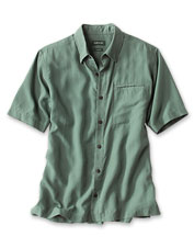 This essential warm-weather shirt features soft, breathable Tencel in a tough ripstop weave.