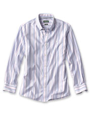 Our Pinpoint Stripe Shirt offers just-right comfort stretch in a smart, wrinkle-free option.