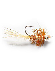 An Orvis-exclusive bonefish fly created by guide Meko.