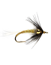 These flies are a great wet fly choice as a dropper when fishing the PMD hatches.