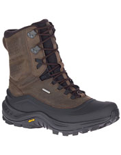 For serious traction and warm feet, lace up in Merrell Thermo Overlook Mid Waterproof Boots.