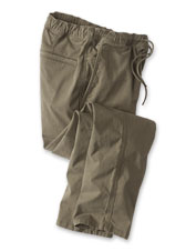 Enjoy the comfort waist and stretchy cotton blend of the Explorer Pants on all your travels.