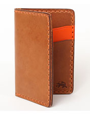 The Vertical Pocket Wallet from Todder is designed for utility and hand stitched for longevity.