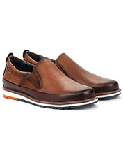 Handsome leather makes the Pikolinos Berna Slip-Ons both comfortable and beautiful.