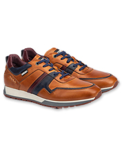 Pikolinos elevates classic sneaker style in this hand-burnished leather Cambil version.