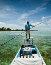 Take in the beautiful scenery and the exciting fly fishing on our Belize fly fishing trip.