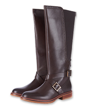 Enjoy them for a lifetime: Barbour makes the leather Mary Tall Riding Boots to last.