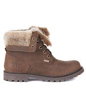 Barbour's fleece-lined Hamsterley offers supreme comfort in a waterproof leather boot.