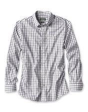 Our wrinkle-free pinpoint cotton shirt gets better with a bit of stretch woven in for comfort.