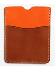Any globetrotter will appreciate the fine workmanship in this leather Todder Passport Sleeve.