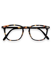 Flattering IZIPIZI Reading Glasses #E feature outsized rims for a bigger visual field.