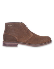 The Barbour Redhead is an uncomplicated but classic leather chukka boot to enjoy for years.