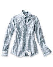The stretchy, Western-inspired Shenandoah Shirt is a performance top made to fit and flatter.