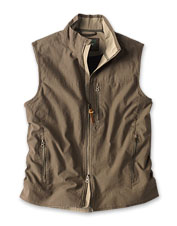 Wear it in the field with confidence: Our Briar Vest features a rugged stretch corduroy shell.