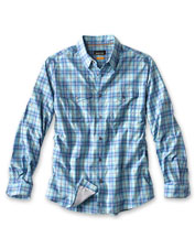Our Hidden Cove Shirt owes its tech prowess to a soft, UPF 40 blend of Tencel® and nylon.