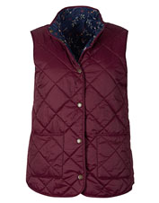 The reversible Barbour Burnham Gilet offers two styles and three-season utility.