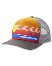 The Saltwater Sunset Foam Dome Hat is a lightweight option for fending off the sun's rays.