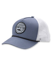 The Orvis American Salt Trucker Hat is a comfortable classic to wear on or off the water.