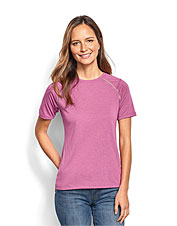 Enjoy breathable comfort for fishing and more in our Women's drirelease Short-Sleeved Tee.