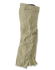 These men's lightweight convertible travel pants will keep you comfortable anywhere.
