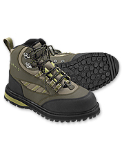 This women's Wading boot features a Vibram sole for maximum grip.