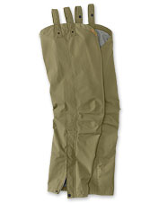 These waterproof hunting chaps are breathable, lightweight and durable.