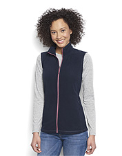 This stretchy fleece vest for women draws inspiration from our familiar microgrid quarter-zip.