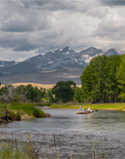 Orvis-Endorsed Fly-Fishing Lodge in Twin Bridges, Montana