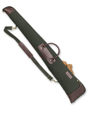 This shotgun carrying case makes it easy to carry your shooting essentials.